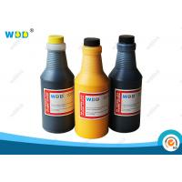 Yellow Solvent Base Inkjet Printer Ink 473ml Replacement For Citronix Printer Manufactures