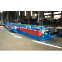 China High Speed Automatic C Purlin Roll Forming Machine , 13 Row Purlin Making Machine on sale