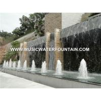 Large Garden Fountains Project , Water Features For Gardens With Water Fall Manufactures