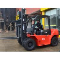 Diesel Powered 7 Ton Forklift 6m Mast With A Stable Transmission System Manufactures