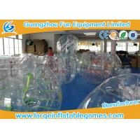 0.7mm - 1.0mm TPU Transparent Inflatable Bubble Ball Bubble Zorb Ball Manufactures