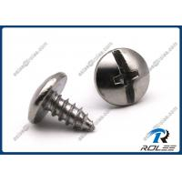 Stainless Steel Philips Slotted Combo Drive Truss Head Self Tapping Screws Manufactures
