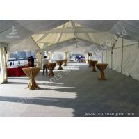 High Peak Lining Style Aluminum Frame Water Resistant Tent Structure For Wedding Receptions Manufactures