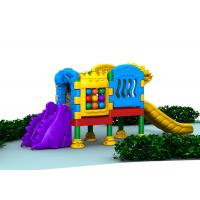 Little Volume Outdoor Kids Plastic Playground Equipment For Doll With Single Layer Manufactures