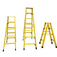 China Fiberglass extension insulated ladder FRP Industrial step ladder on sale