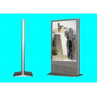 Maggic mirror screen Floor Stand 32 inch LED LCD totem advertising display monitor with WIFI network Android OS functio Manufactures