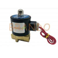 """Threaded Ports 2 Way 2 Position Solenoid Valve 2W-040-10 3/8"""" Inch Direct Acting Manufactures"""