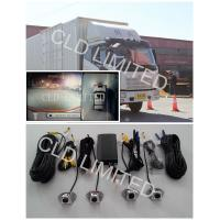 Quality Seamless Bird View Lorry Cameras with 4 channel HD DVR And collision video, Advanced Driving Assistant System for sale