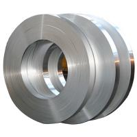 Smooth Color Coated Aluminium Strip Coil For Building 20mm - 600mm ISO Standard Manufactures