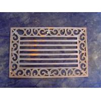 Rectangle Cast Iron Outdoor Doormats For Unique Christmas Non - Slip Manufactures