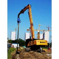 Low Noise Hydraulic Pile Driver High Piling Speed For Various Working Environments Manufactures
