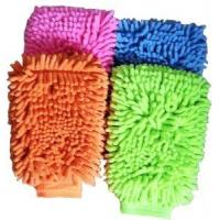 China Car Washing Sponge-Lined Glove on sale