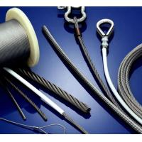 China stainless steel wire rope manufactured according to EN12385-4 in application for pull-push cable of auto industry on sale