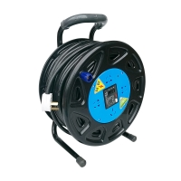 China IEC Extension Cord Reel For Winding Optical Fiber on sale