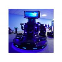 Electric Virtual Reality 9D VR Games Cinema Platoon Ighting Game Machine 3 Players Manufactures
