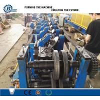Quality C U Z Channel Purlin Roll Forming Machine , Angle Steel Truss Furring Machine for sale