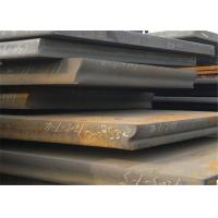 Shipbuilding Hot Rolled Low Carbon Steel , Diamond Plate Steel Sheets Manufactures
