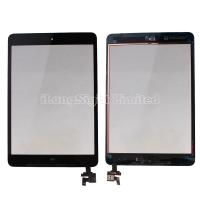 For iPad mini digitizer touch screen with IC Connector adn home button Assembly -Black Manufactures