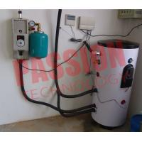 Energy Saving Solar Hot Water Split System , Balcony Solar Water Heater 200 Liter Manufactures