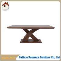 X shape legs coffee table MDF coffee table in home center A501 Manufactures