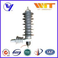 Quality Self Standing Lightning Surge Arrester With Polymeric Housing , High Energy for sale
