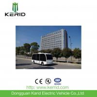 Self Drive Solar Powered Electric Car , Driverless Shuttle Bus 8 Seats Laser Control Manufactures