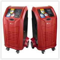 China Red Auto Ac Recovery Machine Automatic Oil Injection 1000g/min Charge Speed on sale