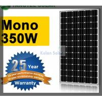 350W Flexible Mono Solar Panel Good Lamination , Strong Aluminium Frame Manufactures