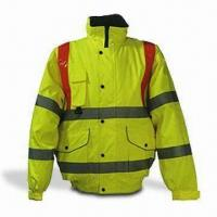 Flame Retardant Bomber Jacket with High Visibility and Proban Treatment Manufactures