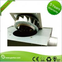 125mm Thin Durable Silent Inline Fan / Square Inline Centrifugal Duct Fan Manufactures