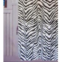 China ZEBRA 100% Polyester Shower Curtains on sale