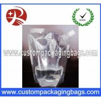 Stand Up Customized Packaging Bag With Spout , High barrier Bag Manufactures