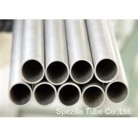 Condenser Thin Wall Pipe Welded Titanium Round Tube For Medical Industry Manufactures