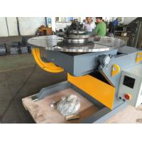 China Tilting and Revolving Positioner 600kg Capacity Weld Positioners with Foot Pedal Control Export Russia on sale