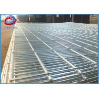 Customized Security 358 Galvanized Welded Wire Mesh Fence Panels For Airport / Prison Manufactures