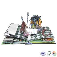 Pop-up creative books Manufactures