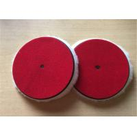 OEM Lambswool Buffing Pad , 6 Inch Foam Polishing Pads For Vehicle Paint Manufactures