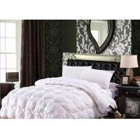 100% Cotton Luxury Duck Down Quilt / Duck Feather And Down Duvet Alternative Washed Manufactures