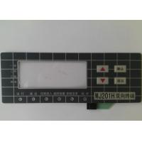 Custom Touch Screen Waterproof Membrane Switch With 3M Adhesive , High Sensivity Manufactures