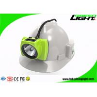 Electronic LED Miners Cap Lamp 3.7V Head Protection 18000lux High Brightness Manufactures