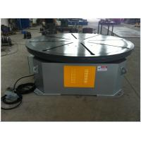 Horizontal Welding Turning Table 0.25kw , Pipe Welding Rotary Table 1000kg Manufactures