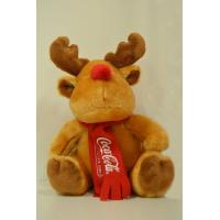 8 Inch Stuffed Promotional Gifts Toys Christmas Moose Reindeer Plush Toys Manufactures