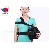 Black Elastic Shoulder Support Strap Promoting Recovery Preventing Re - Injury Manufactures