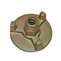 Concrete Construction Wing Nut Scaffolding , 12/14 Mm Tie Rod Nut Forged Process Manufactures