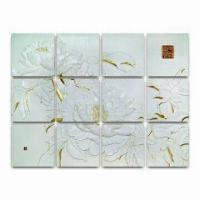 Chinese Style 3D Wall Tiles for Decorations, with Noise Absorption Feature Manufactures