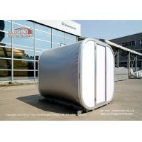 Luxury Modular Box Capsule Cube Glamping Camping Tents For Party Campion Snow Load 75kg/sqm Manufactures