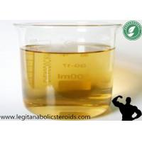 99% Purity Yellow Steroid Oil Trenbolone Acetate For Bodybuilding CAS 10161-34-9 Manufactures