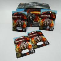 Black/Green/Red Mamba male enhancement pills sexual capsule packaging 3D blister cards with display box Manufactures
