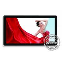 Ultra Thin 49 Inch Pc Touch Wall Mount Lcd Display 500cd / M2 With Bluetooth And Wifi Manufactures
