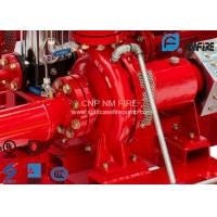 High Efficiency Centrifugal Fire Pump 200 Usgpm@105PSI Ductile Cast Iron Materials Manufactures